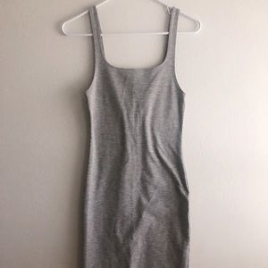 Zara • Trafaluc Grey Fitted Dress
